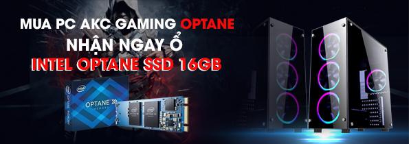 Mua PC AKC Gaming Optane – Nhận ngay ổ Intel Optane SSD 16GB