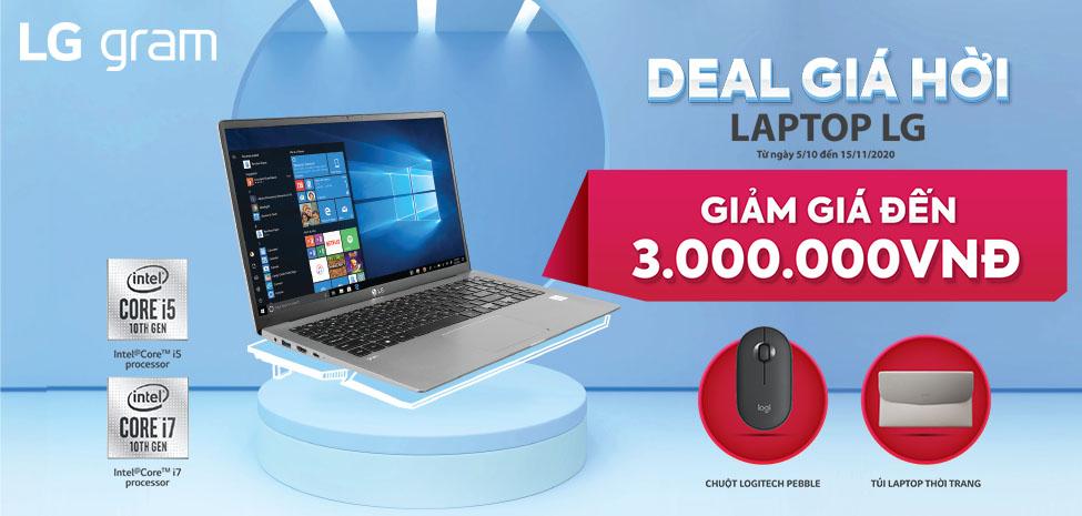 Laptop LG- Dear giá hời