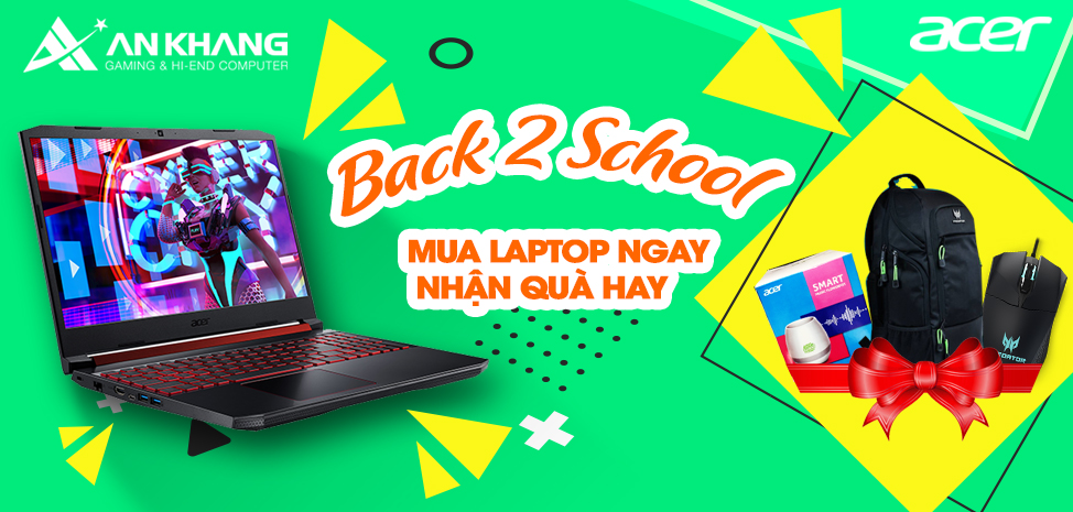 Khuyến mại Acer back to school