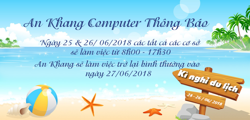 THÔNG BÁO LỊCH LÀM VIỆC NGÀY 25 & 26 - 2018