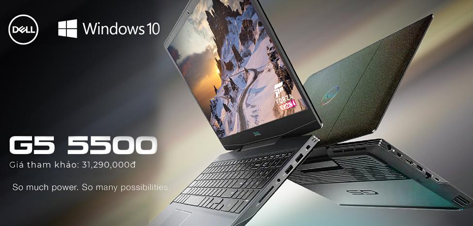Dell Gaming G5 5500