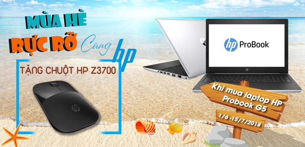 MUA HP PROBOOK - TẶNG CHUỘT KHÔNG DÂY HP Z3700