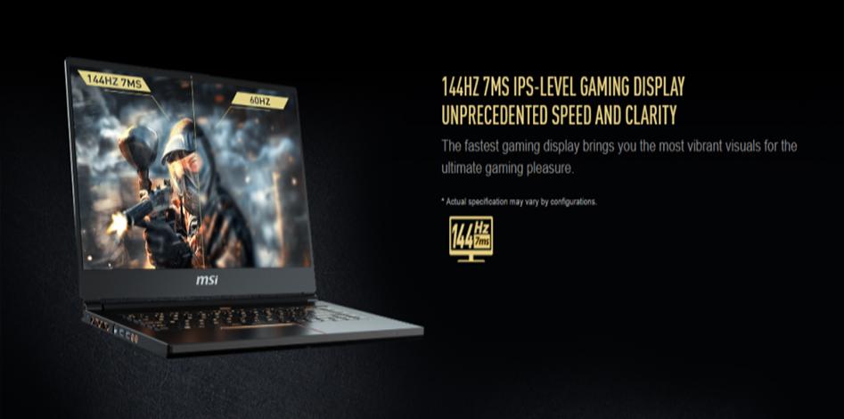 laptop MSI, MSI GS65, 8RE 242VN, laptop MSI core i7, laptop MSI gaming