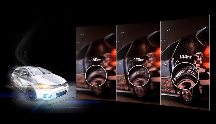 màn hình máy tính, màn hình samsung, màn hình 23.5 inch, LC24FG73FQEXXV