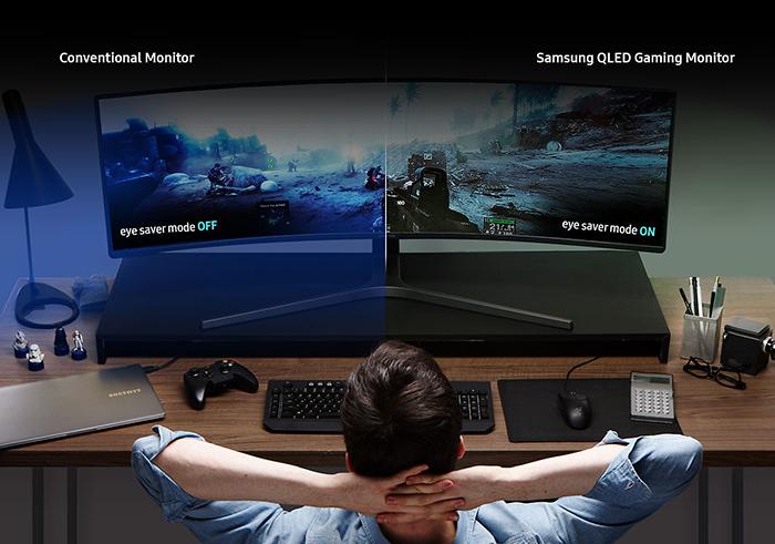 màn hình máy tính, màn hình cong, màn hình samsung, màn hình 49 inch, LC49HG90DMEXXV