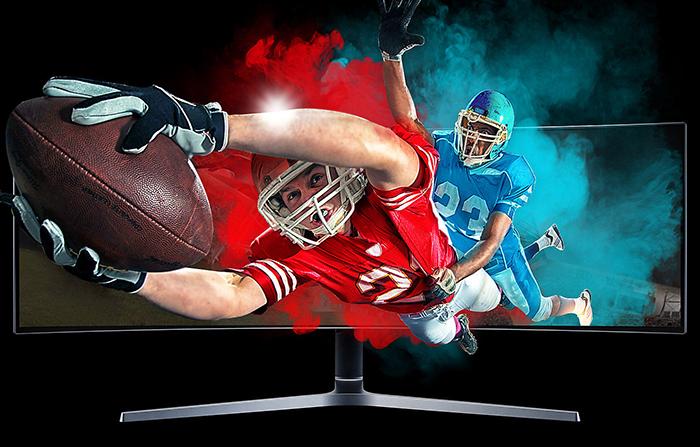 màn hình máy tính, màn hình samsung, màn hình 49 inch, màn hình cong, LC49HG90DMEXXV