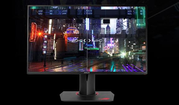 màn hình máy tính, màn hình asus, màn hình 27 inch, màn hình gaming, asus rog swift PG279Q