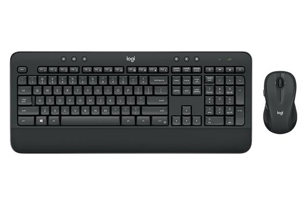 bàn phím, chuột, bộ bàn phím và chuột logitech, logitech MK545
