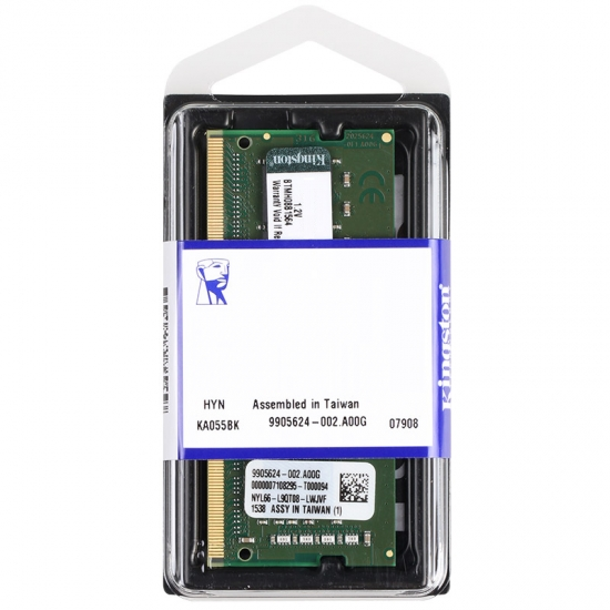 Ram Laptop Kingston 8GB DDR4 2400MHz CL17 SODIMM- KVR24S17S8/8